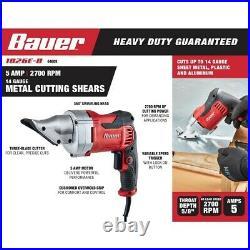 14 gauge 5 Amp Heavy Duty Metal Shears Metal Cutter Flashing Roofing Power Tool