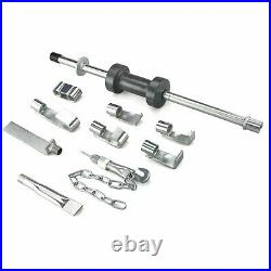 18 pc Heavy Duty Heat Treated Dent Puller Slide Hammer Body Shop Repair Tool