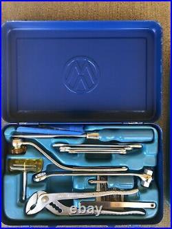 1965 Vintage Volkswagen VW Heavy-Duty Metal Tool Case Box Hazet Tools Excellent