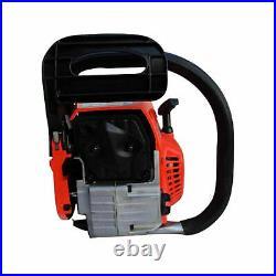 20 52cc Heavy Duty Chainsaw Wood Cutting Saw Cutter Two Stroke Petrol Engine UK