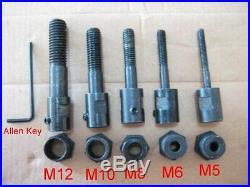 20 Heavy Duty Rivet Nut Nutsert Insert Tool Kit M5 M6 M8 M10 M12 Mandrels