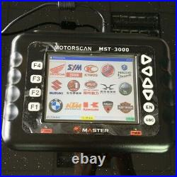 2020 Asia version Heavy duty motorcycle scanner MST-3000 Motor Diagnostic Tool
