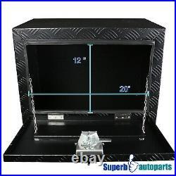 24x17x18 Truck Heavy Duty Tool Box Underbody Storage Pickup Trailer+Lock