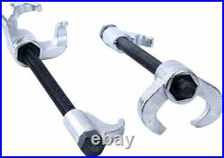 2Pc Heavy Duty Coil Spring Compressor Strut Remover Installer Suspension Tool US