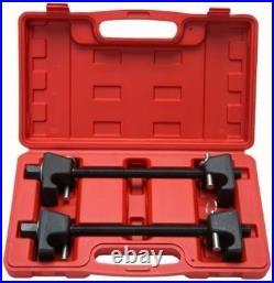 2pc Coil Spring Compressor Strut Remover Installer Suspension Tool Heavy Duty CA