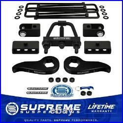 3 Front 1.5 Rr Lift Kit For 11-20 Silverado Sierra HD Tool Shock Extenders 4WD