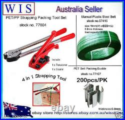 4 in 1 Manual PET Strapping Tools Packing Machine Set, Heavy Duty Packing Machine