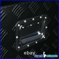 49x15x15 Truck Heavy Duty Tool Box Underbody Storage Pickup Trailer+Locks