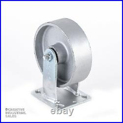 6 x 2 Swivel Casters / Rigid Steel Wheel 1200lb ea Heavy Duty Tool Box
