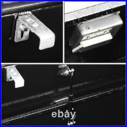 60x 12 X14 Black Aluminum Pickup Truck Heavy Duty Tool Box Trunk Bed Storage