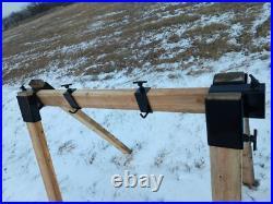 AR500 Steel Target Stand Hanger DIY Heavy Duty Tool Free Design Gun Rifle Pistol
