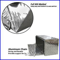 Aluminium Tool Box Large Tool Storage w Lock UTE Trailer Truck Heavy Duty Vehicl