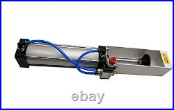 Aluminum Can Crusher Heavy Duty Pneumatic Air Cylinder Soda Beer Recycling Tool