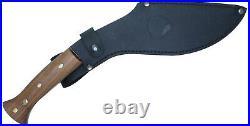 Condor Knife & Tool Heavy Duty Kukri Fixed 10 Blade Leather Sheath 61718