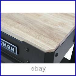 Craftsman 45 Workbench with Drawer Heavy Duty Garage Tool Workshop Wood Table