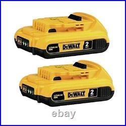 DEWALT DCS551B 20V MAX Cordless Li-Ion Drywall Cut-Out Tool New DCB203-2 Battery