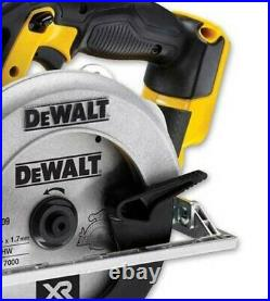DeWalt 18v DCS391N Heavy Duty XR 165mm Circular Saw 18 Volt + Tool Bag