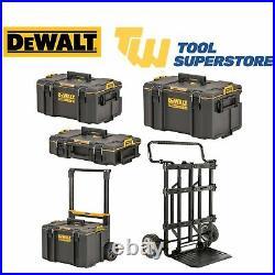 DeWalt ToughSystem 2.0 Storage Carry Case Carrying Toolbox Trolley Heavy Duty