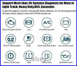 Desiel Heavy Pickup Truck & OBDII Car Diagnostic Tool Calibration Coding Scanner