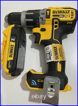 Dewalt DCD797 Tool Connect 20V MAX Brushless 1/2 Hammer/Driver Drill And 2.0Ah