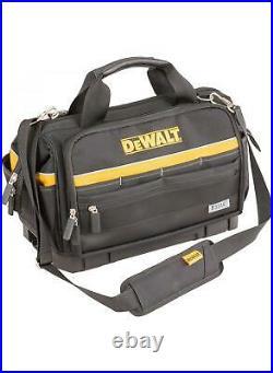 Dewalt Tstak Bottom Heavy Duty Open Mouth Soft Tool Bag 18 + Tstak 2 Case