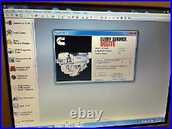 Diesel Laptop Diagnostic Scanner Heavy Duty Truck Isx D13 Ecu Tool Ecm C11 C175