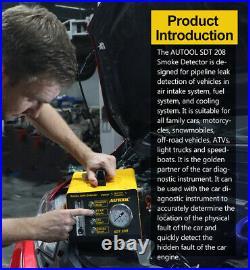 EVAP Car Heavy Duty Truck Smoke Machine Pipe Smoke Leak Detector Diagnostic Tool