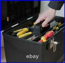 Extra Large Tool Box On Wheels Rolling Mobile Work Centre Heavy Duty Storage New