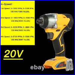 For Dewalt DCF887N 20V 1/4 Cordless Brushless Impact Driver Power Tool Bare US