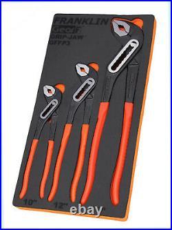 Franklin Tools GFFP3 GEAR F 3 pc Heavy Duty Water Pump Pliers 10 12 16