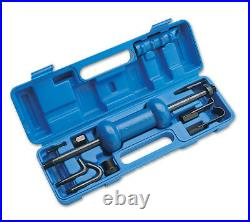 HEAVY DUTY 5lb Slide Hammer Set With Dent Pulling Tools Set 9 Piece Tool Set