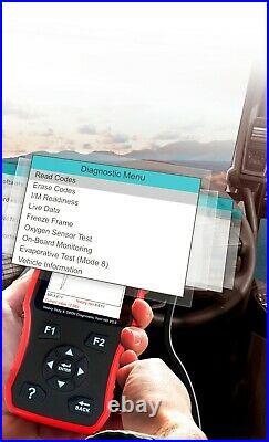 HEAVY DUTY DIESEL TRUCK DIAGNOSTIC SCANNER TOOL CODE READER iCarsoft HD V3.0