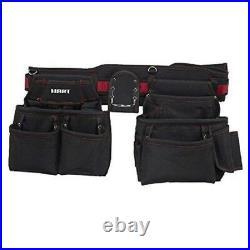 Hart Professional Heavy Duty 20 Pocket Tool Belt Tradie Builder Chippie Trades