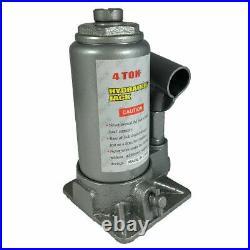 Heavy Duty 4 Tons Hydraulic Bottle Jack Automot Car Repair Shop Lift Tool BJ04T