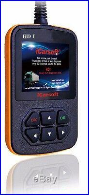 Heavy Duty Diesel Truck Diagnostic Scanner Tool Code Reader Peterbilt Kenworth