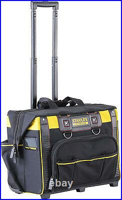Heavy Duty Large Mobile Rolling Tool Bag on Wheels Handle / Pockets / Storage