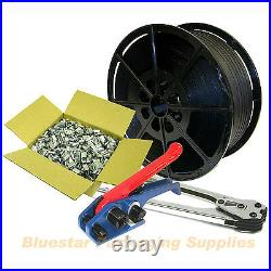 Heavy Duty Starter Strapping Banding Kit Seals Tools (Kit A1)