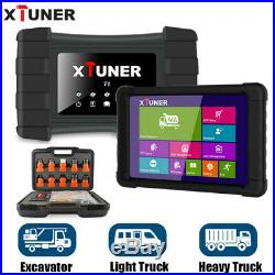 Heavy Duty Truck OBD Diagnostic Tool Airbag ABS DPF OBD 2 Auto Scan +8'' Tablet