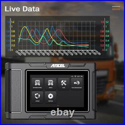 Heavy Duty Truck Scanner HD Diesel Full System Diagnostic Tool Code Reader SRS