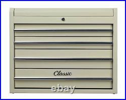 Hilka Heavy Duty Classic 4 Drawer Tool Storage Workshop Garage Add On Chest