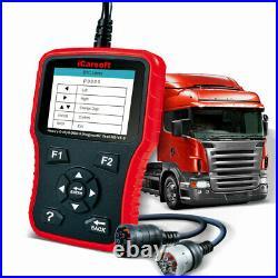 ICarsoft HD V3.0 Heavy Duty Diesel Truck Diagnostic Scanner Tool Code Reader