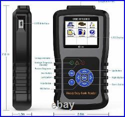 KZYEE KC601 Heavy Duty Scan Tool HD Truck Diagnostic Scanner