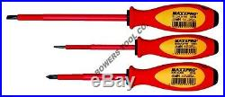 Knipex 7pc Insulated Pliers Screwdriver Tool Set 1000V Nylon Pouch 9K989827US