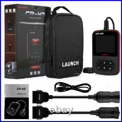 LAUNCH Heavy Duty Truck OBD2 HD Code Reader Diesel Diagnostic Tool For Ford GMC