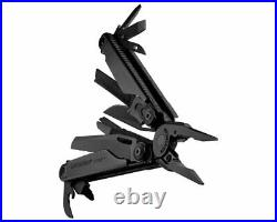 LEATHERMAN Surge Heavy Duty Multi-Tool, Black Oxide with 4 Pocket Nylon Sheath