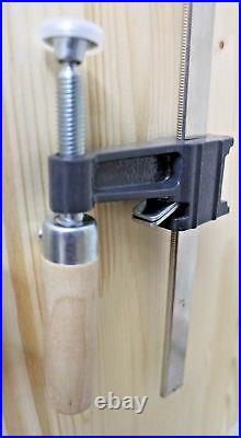 LOT OF 2- 24 INCHES BAR CLAMPS Heavy Duty Woodworking Wood Carpenter Tools