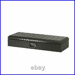 Lund 288272 32 Challenger ATV Front Heavy Duty Aluminum Front Tool Box, Black