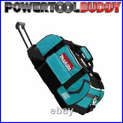 Makita LXT600 Heavy Duty Padded Tool Bag WHEELS 831279-0 6 Piece Kit Bag