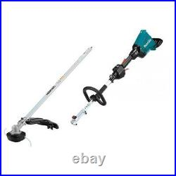 Makita X2 XUX01ZM5 36V LXT Shaft Power Head Attachment With Trimmer Bare Tool