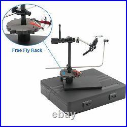 Maxcatch Rotary Fly Tying Vises Alloy Fly Tying Tools with Heavy Duty Base